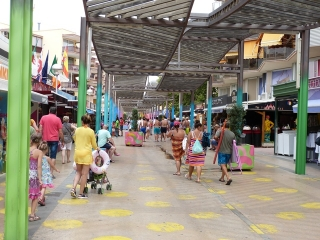 Actualment, Salou té un total de 1.234 establiments comercials registrats