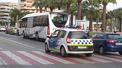Vehicle de la Policia Local de Salou
